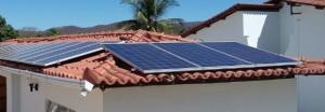 Programa de Iniciação científica - Instalação já realizada de módulos fotovoltaicos
