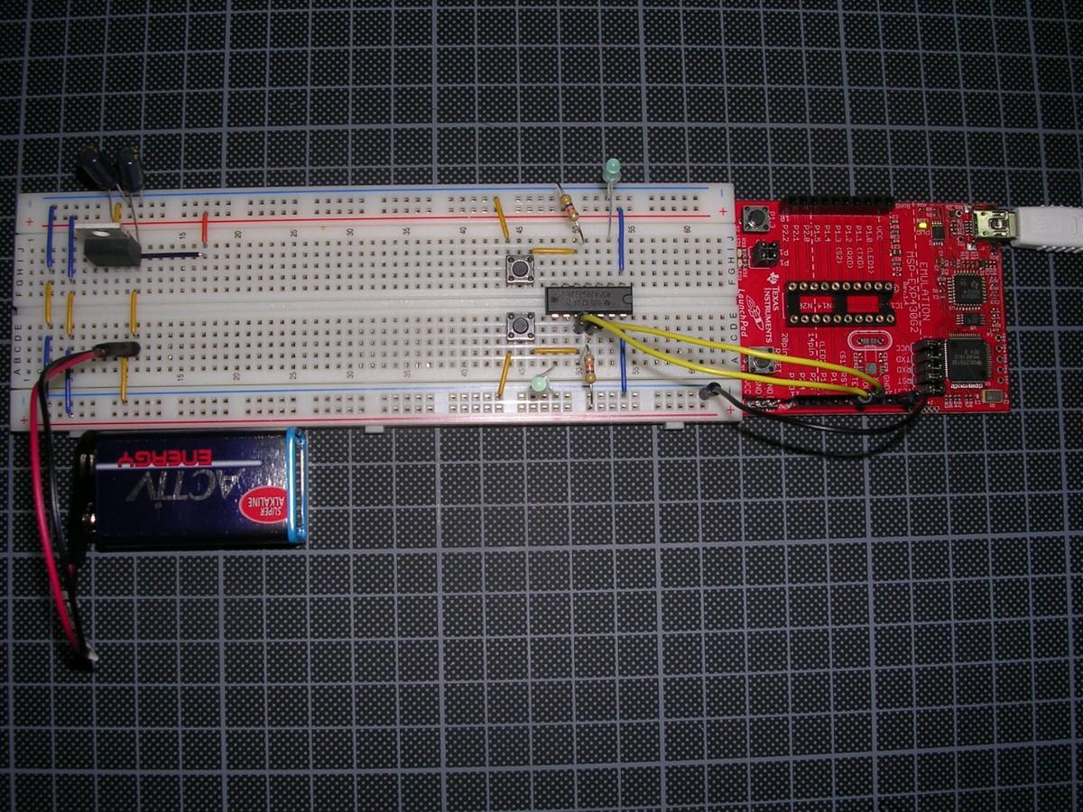 MSP430G2 Operando Sozinho