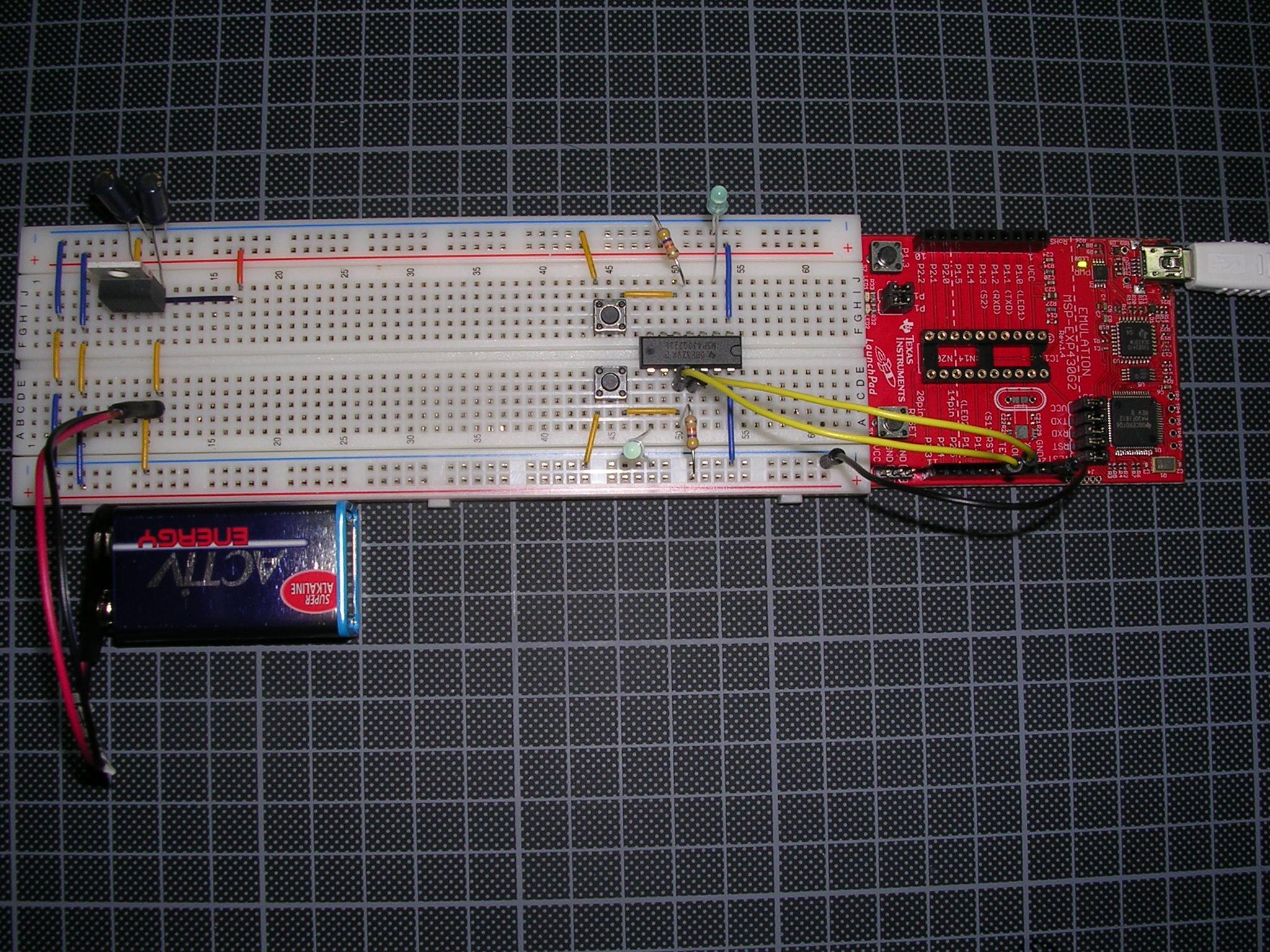 Microcontrolador-operando-sozinho