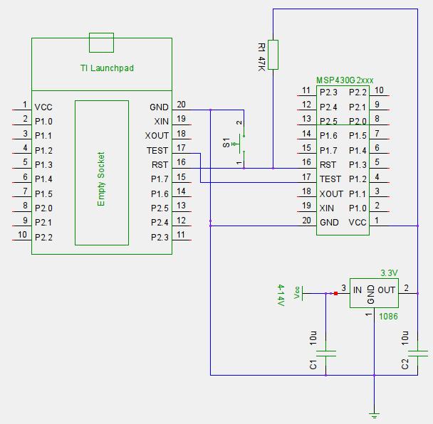 msp430g2xxx_programacao_do_circuito